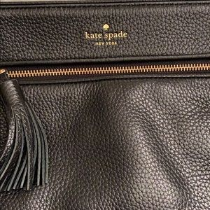 Authentic Kate Spade Black Leather Crossbody EUC